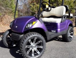 Custom-Cartz-Purple-lifted-golf-cart-2-768x1024