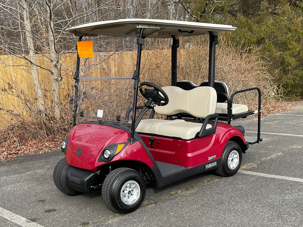 2021 Yamaha Drive 2 Red Gas EFI